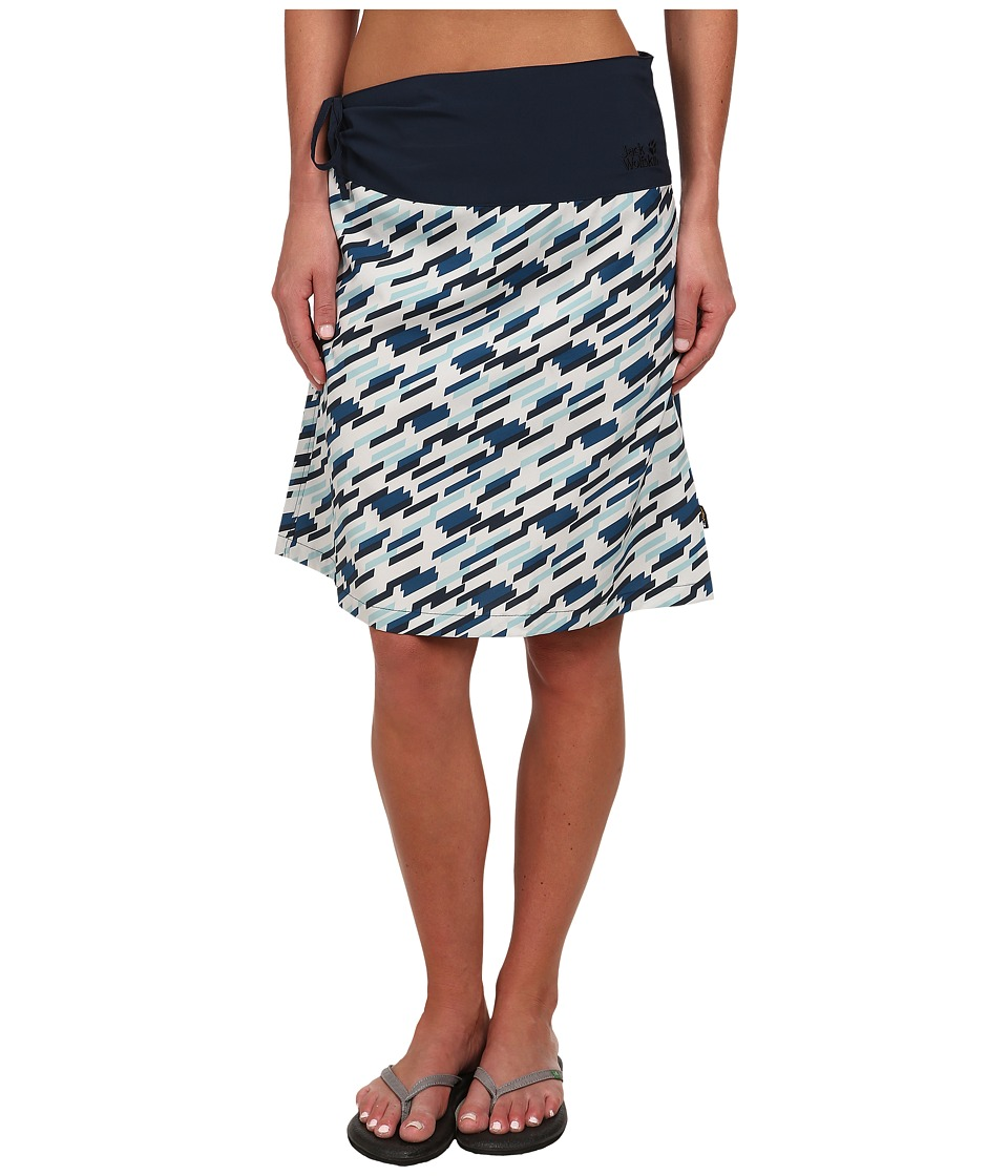 Jack Wolfskin - Beaumont Skirt (Moroccan Blue All Over) Women's Skirt