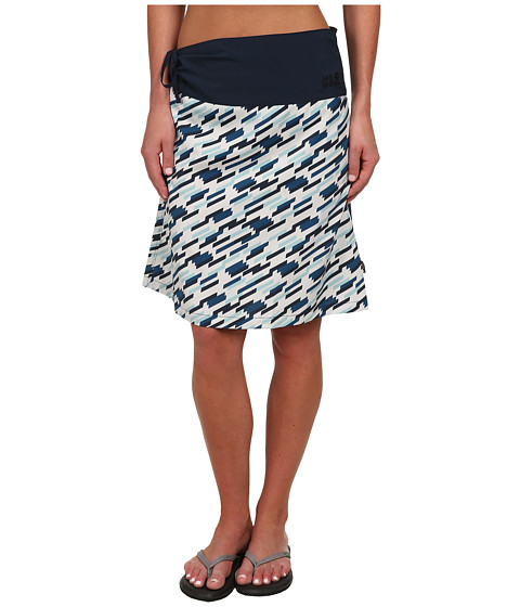 Jack Wolfskin - Beaumont Skirt (Moroccan Blue All Over) Women