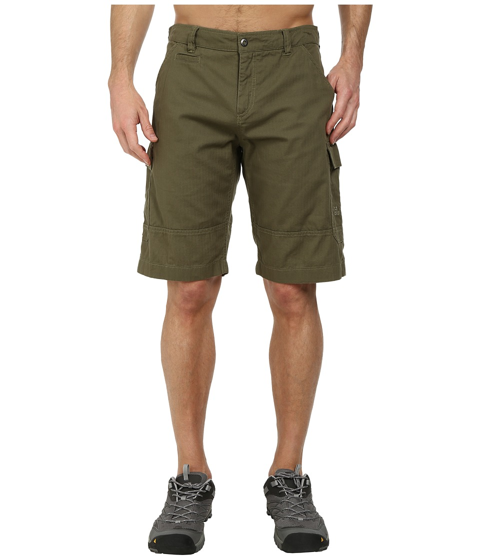 Jack Wolfskin - Cargo Shorts (Burnt Olive) Men's Shorts