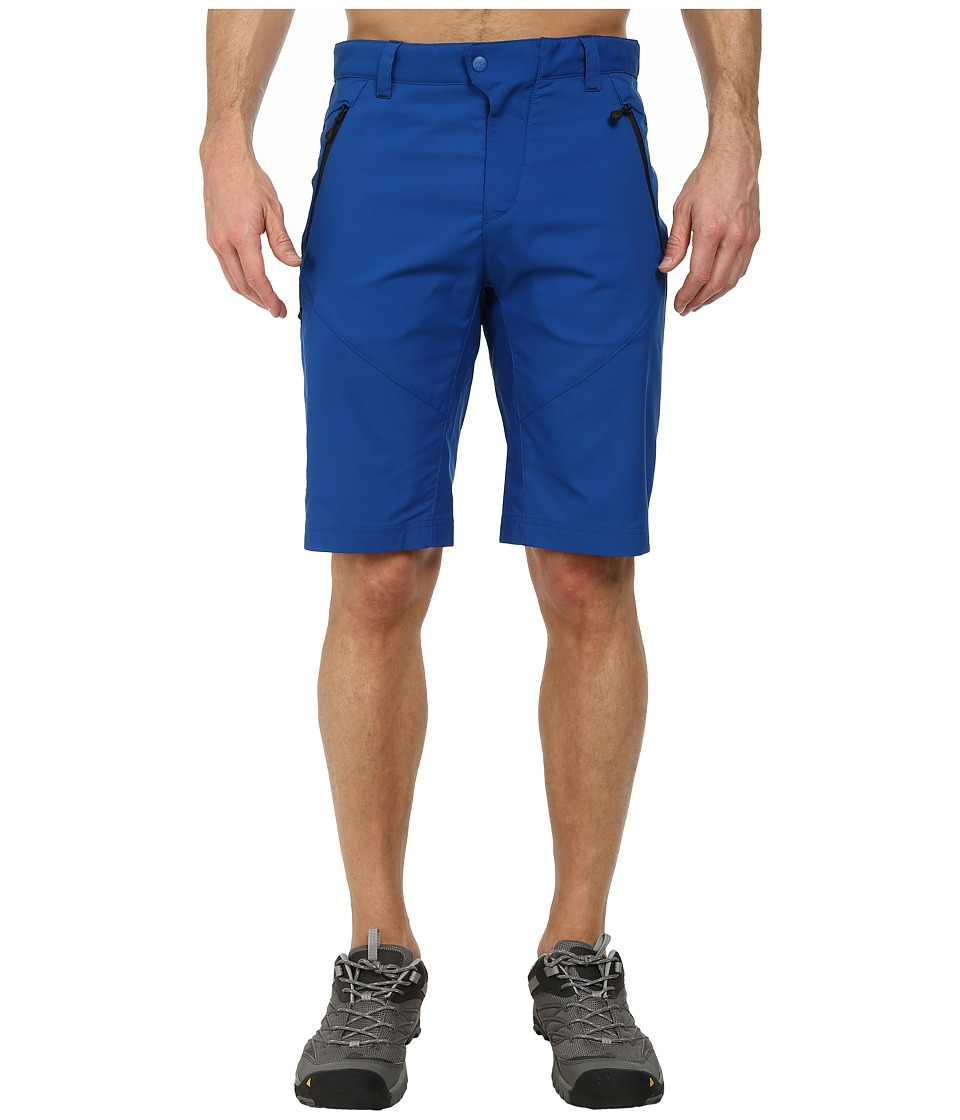 Jack Wolfskin - Active Track Shorts (Classic Blue) Men's Shorts