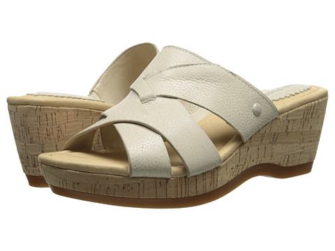 Hush Puppies - Janae Farris (Off White Leather) Women