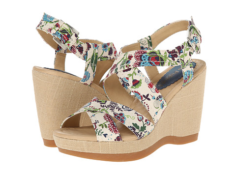 Hush Puppies - Gillian Lucca (Floral Textile) Women