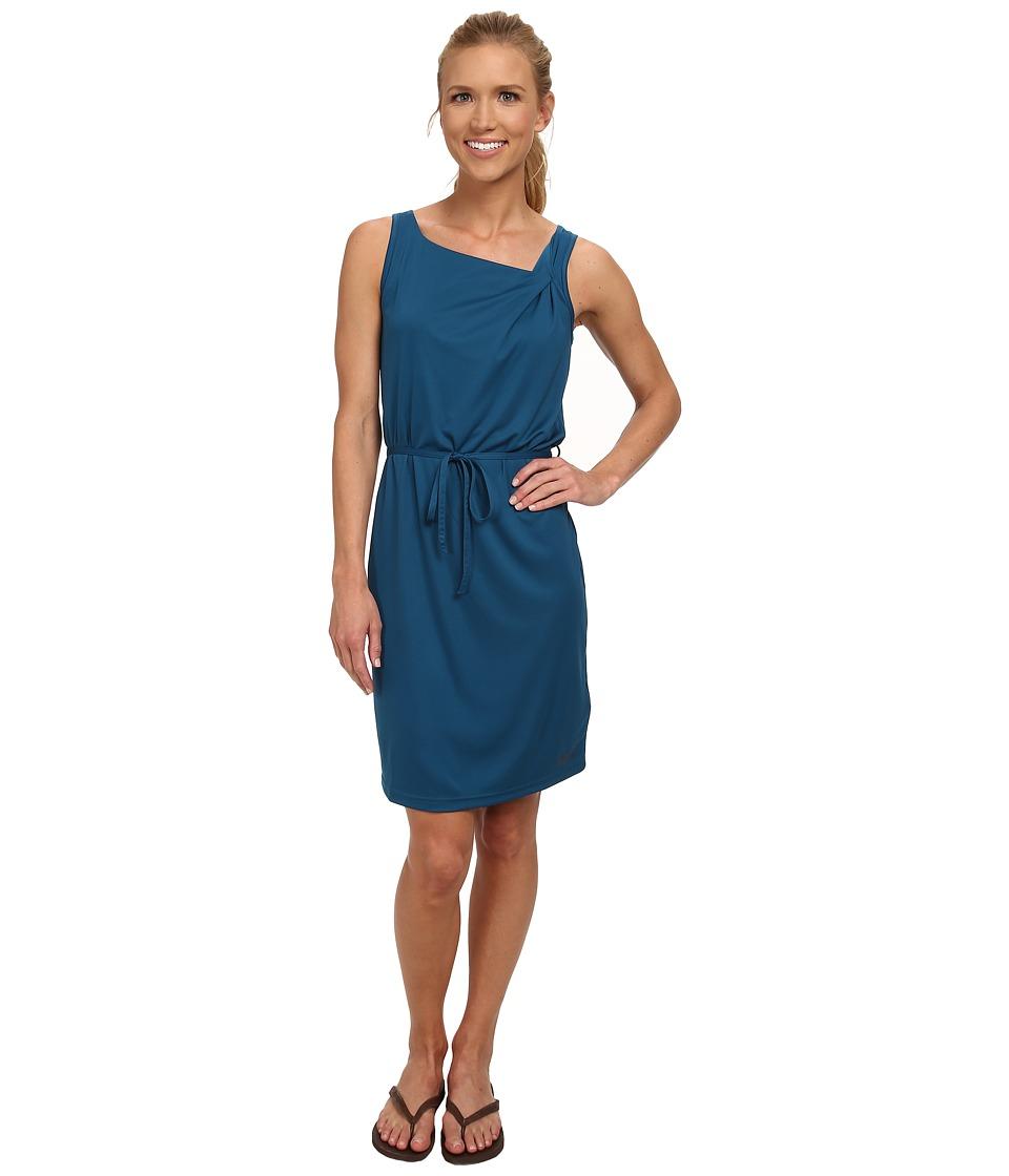 Jack Wolfskin - Tongari Dress (Moroccan Blue) Women