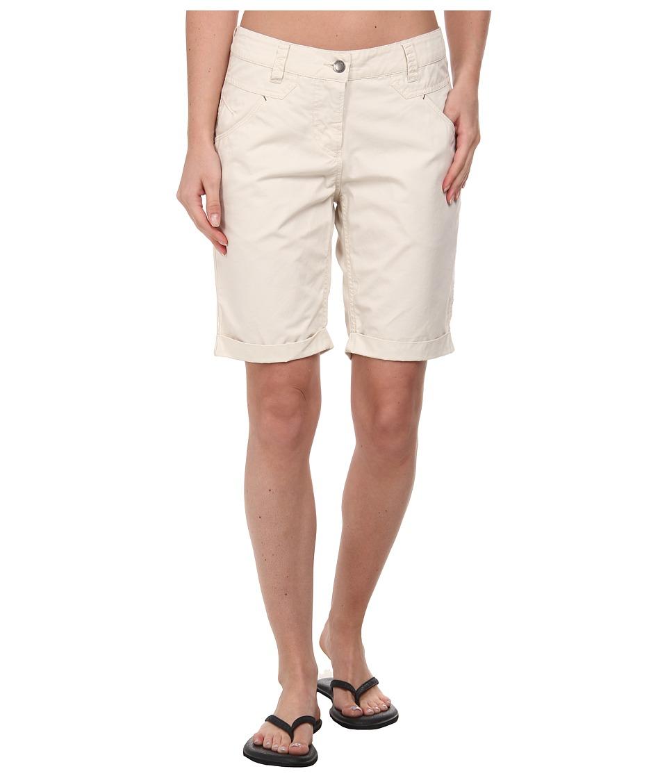 Jack Wolfskin Victoria OC Shorts (White Sand) Women