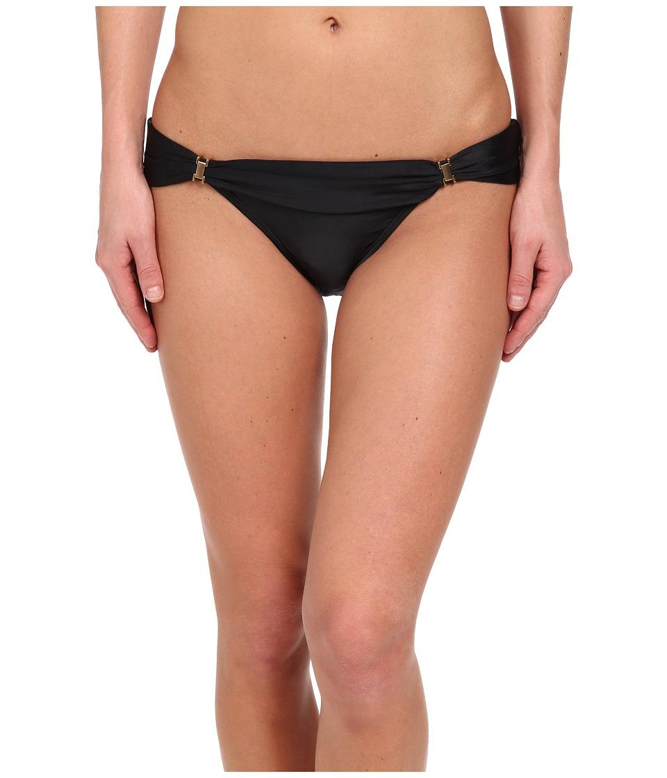 Vix - Solid Black Bia Tube Full Bottom (Black) Women's Swimwear