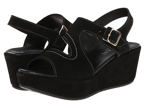 Cordani - Danvers (Black Suede) Women's Wedge Shoes