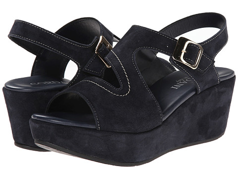 Cordani - Danvers (Navy Suede) Women's Wedge Shoes