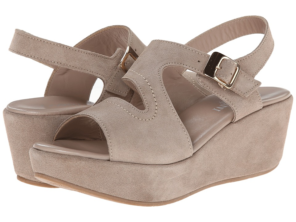 Cordani - Danvers (Taupe Suede) Women's Wedge Shoes