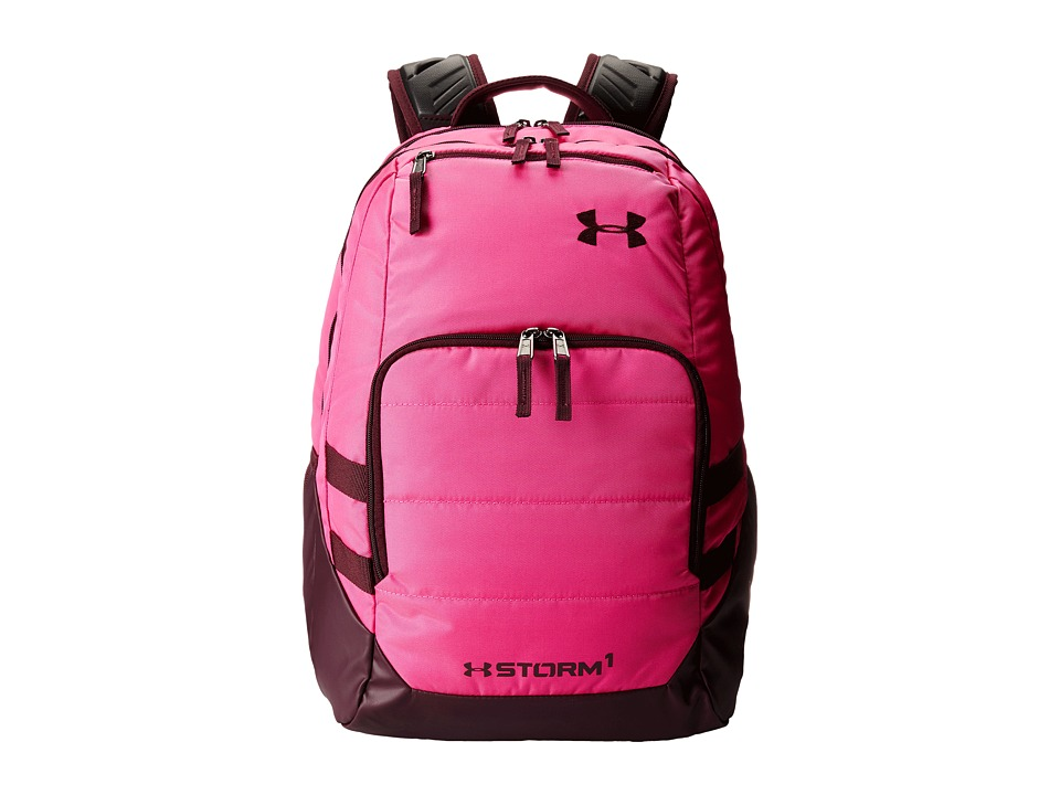 Under Armour - UA Camden Backpack II (Rebel Pink/Ox Blood/Ox Blood) Backpack Bags