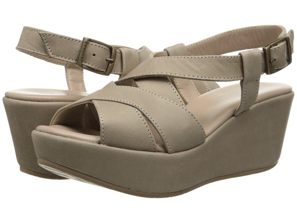 Cordani - Darnell (Taupe/Taupe Leather) Women's Wedge Shoes