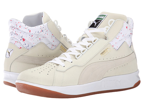 PUMA - Challenge Splatter (White/Whisper White) Men's Shoes
