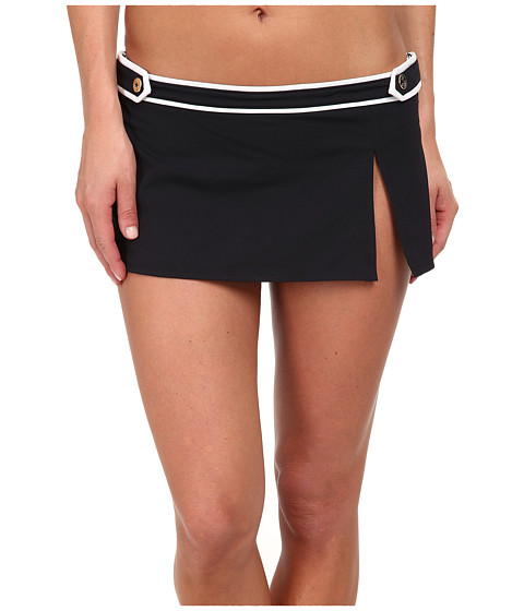 Bleu Rod Beattie - Hey Sailor Skirted Hipster Bottom (Black) Women's Swimwear