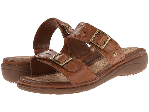 Hush Puppies - Rebecca Keaton (Tan Leather) Women
