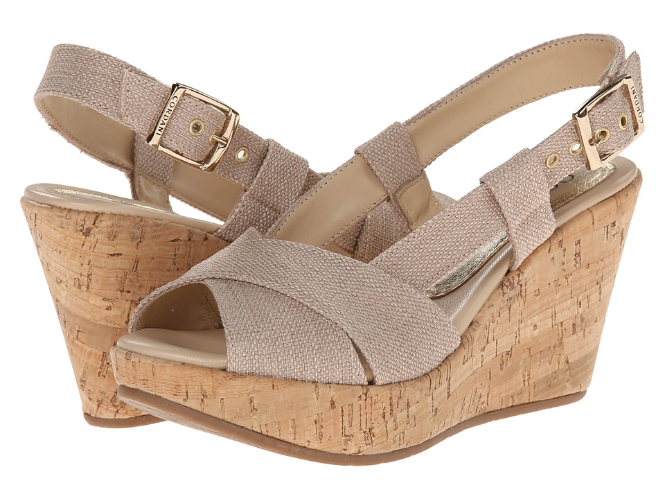 Cordani - Emelie (Natural Texture) Women's Wedge Shoes