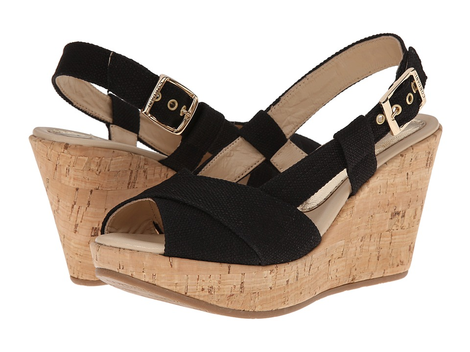 Cordani - Emelie (Black Texture) Women's Wedge Shoes