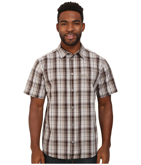 Jack Wolfskin - Hot Chili (Siltstone Checks) Men's Clothing