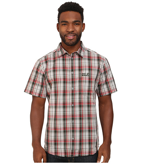 Jack Wolfskin - Hot Chili (Spruce Checks) Men's Clothing