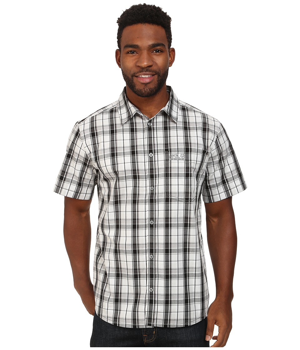 Jack Wolfskin - Hot Chili (Black Checks) Men's Clothing