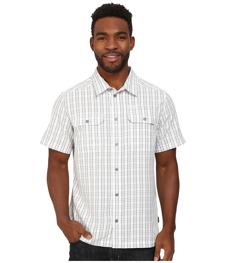 Jack Wolfskin - Thompson Shirt (White Rush Checks) Men's Clothing