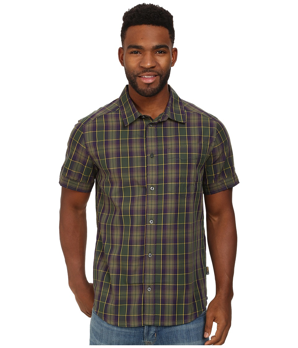 Jack Wolfskin - Fairford Shirt (Spruce Checks) Men's Clothing