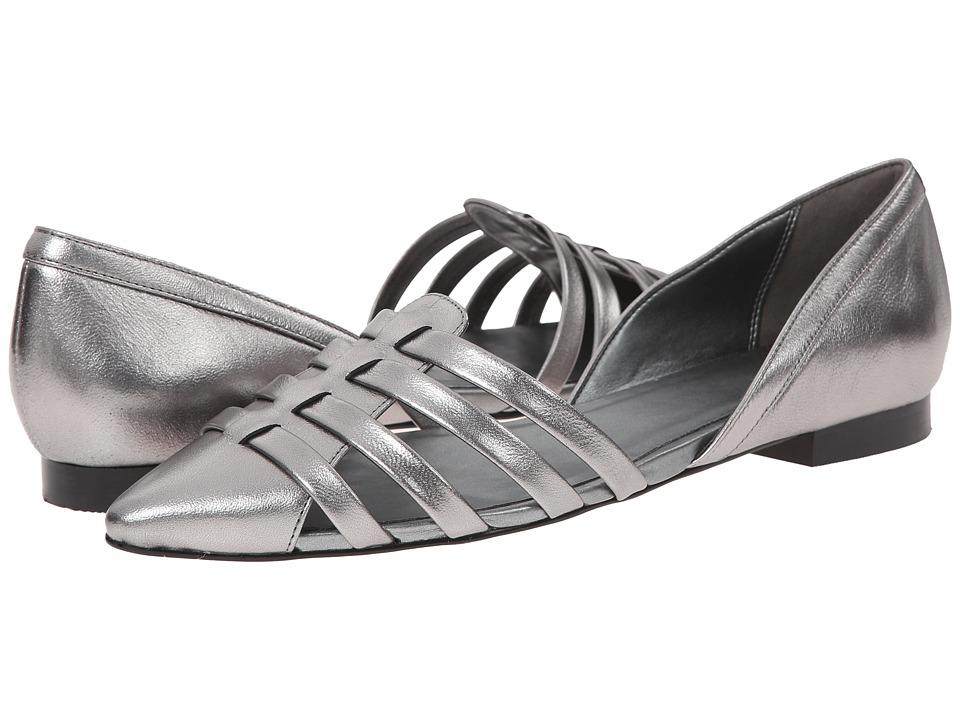 Cole Haan Jitney Flat (CH Armor Metallic) Women