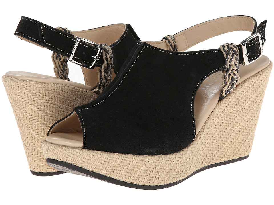 Cordani - Engel (Black/Suede) Women's Wedge Shoes
