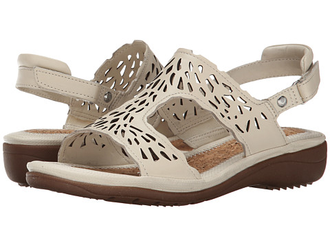 Hush Puppies - Regina Keaton (Off White Leather) Women