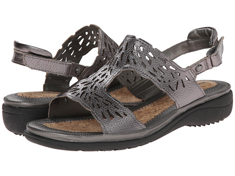 Hush Puppies - Regina Keaton (Dark Pewter Leather) Women