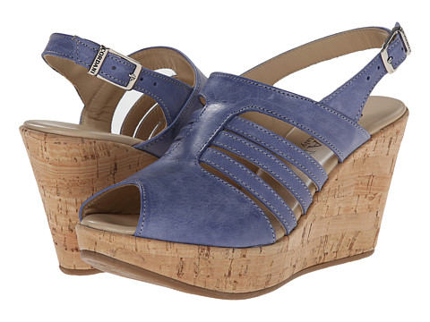 Cordani - Edina (Blue Leather) Women's Wedge Shoes
