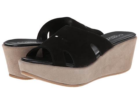 Cordani - Dayton (Black Suede) Women's Wedge Shoes