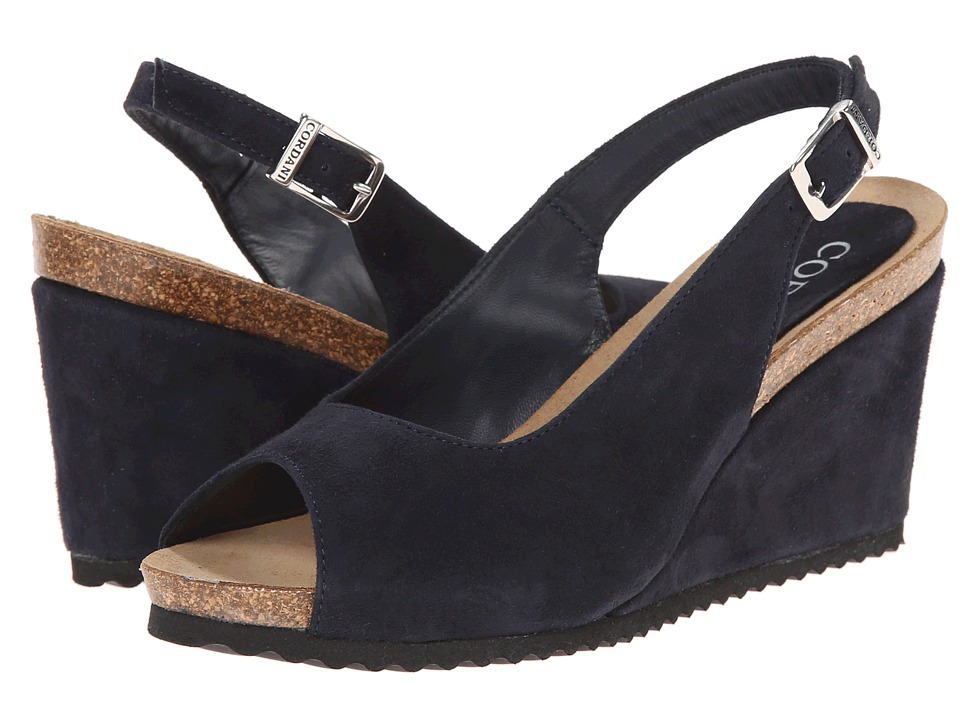 Cordani - Andrews (Navy Suede) Women's Shoes