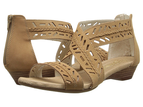 Hush Puppies - Panache Ankle Strap (Tan Nubuck) Women