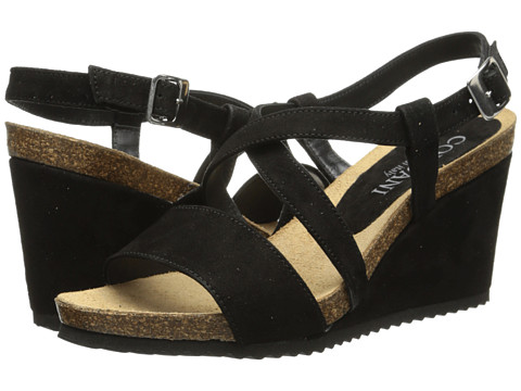 Cordani - Atwell (Black Suede) Women's Wedge Shoes