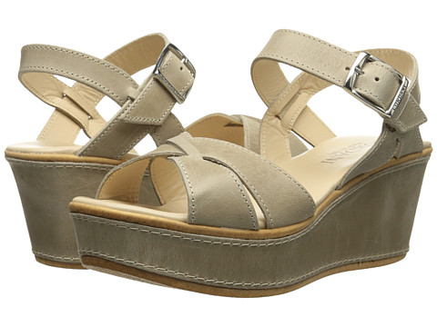 Cordani - Kallie (Beige Leather) Women's Wedge Shoes