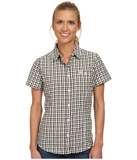 Jack Wolfskin - Flaming Vent Shirt (Siltstone Checks) Women's Clothing