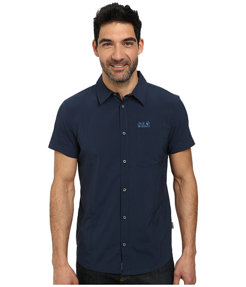 Jack Wolfskin - Egmont Shirt (Night Blue) Men