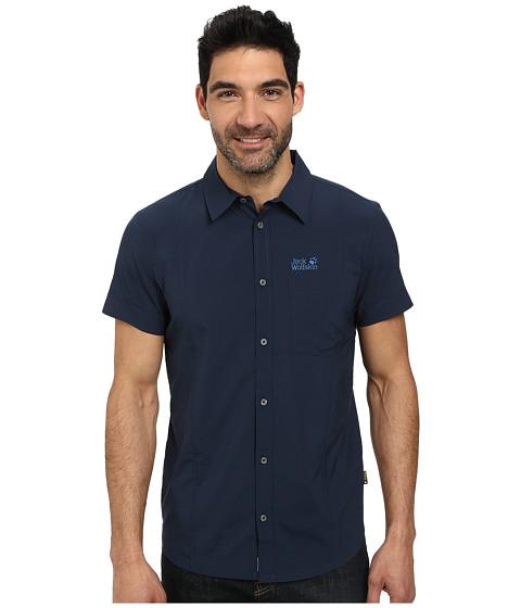 Jack Wolfskin - Egmont Shirt (Night Blue) Men