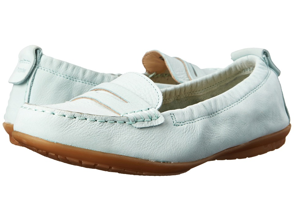 Hush Puppies Katherine Ceil (Light Aqua Nubuck) Women