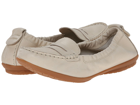 Hush Puppies - Katherine Ceil (Off White Leather) Women