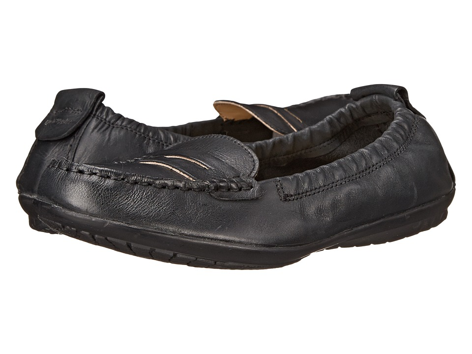 Hush Puppies - Katherine Ceil (Black Leather) Women