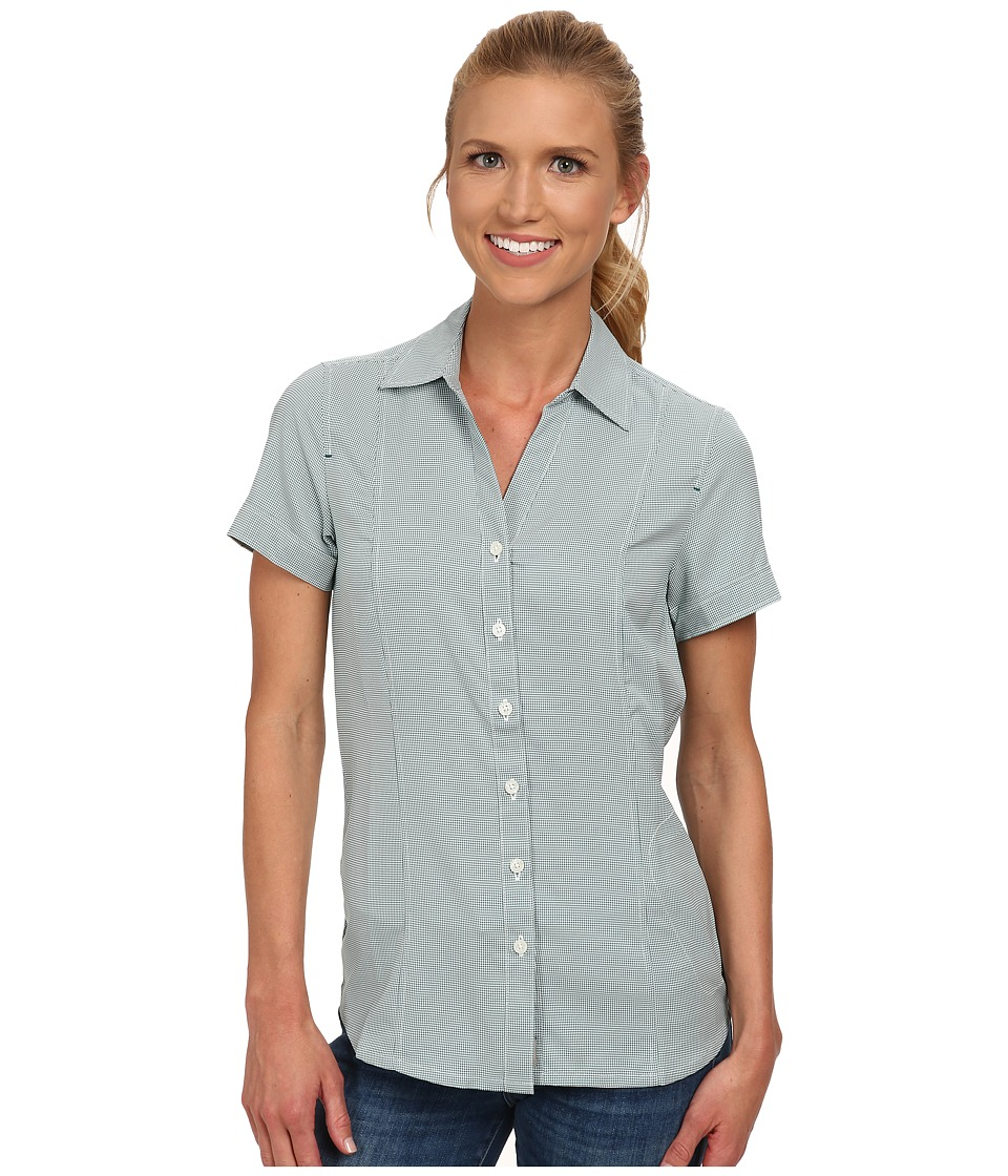 Jack Wolfskin - Kepler Shirt (Green Lake Checks) Women's Clothing