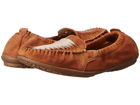 Hush Puppies - Lydia Ceil (Cognac Nubuck) Women