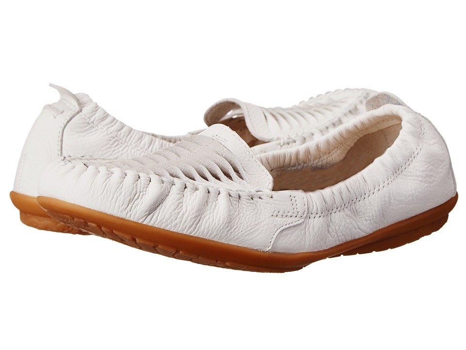 Hush Puppies - Lydia Ceil (White Leather) Women