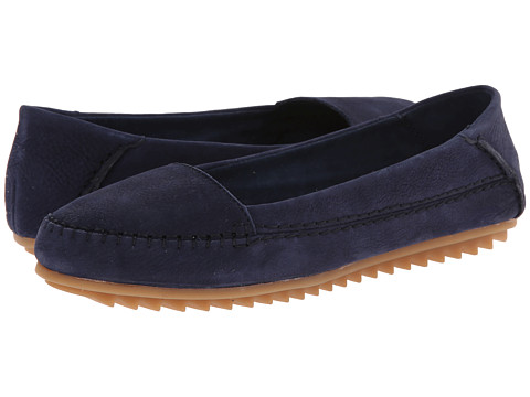 Hush Puppies - Thora Create (Navy Nubuck) Women's Shoes