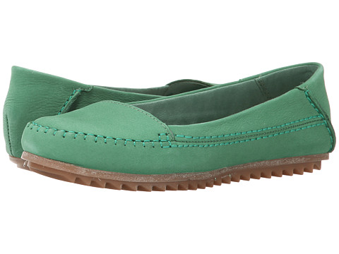 Hush Puppies - Thora Create (Green Nubuck) Women's Shoes