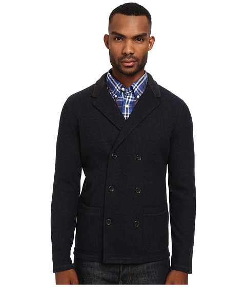 Jack Spade - Garrett Knit Blazer (Navy) Men's Jacket