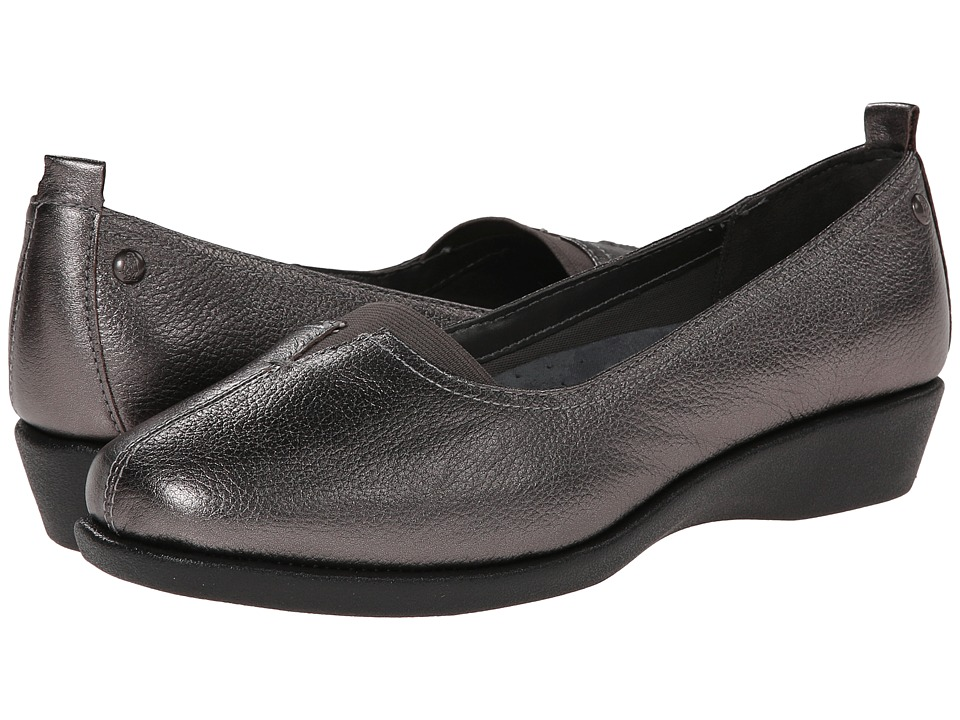 Hush Puppies - Pearl Carlisle (Pewter Leather) Women