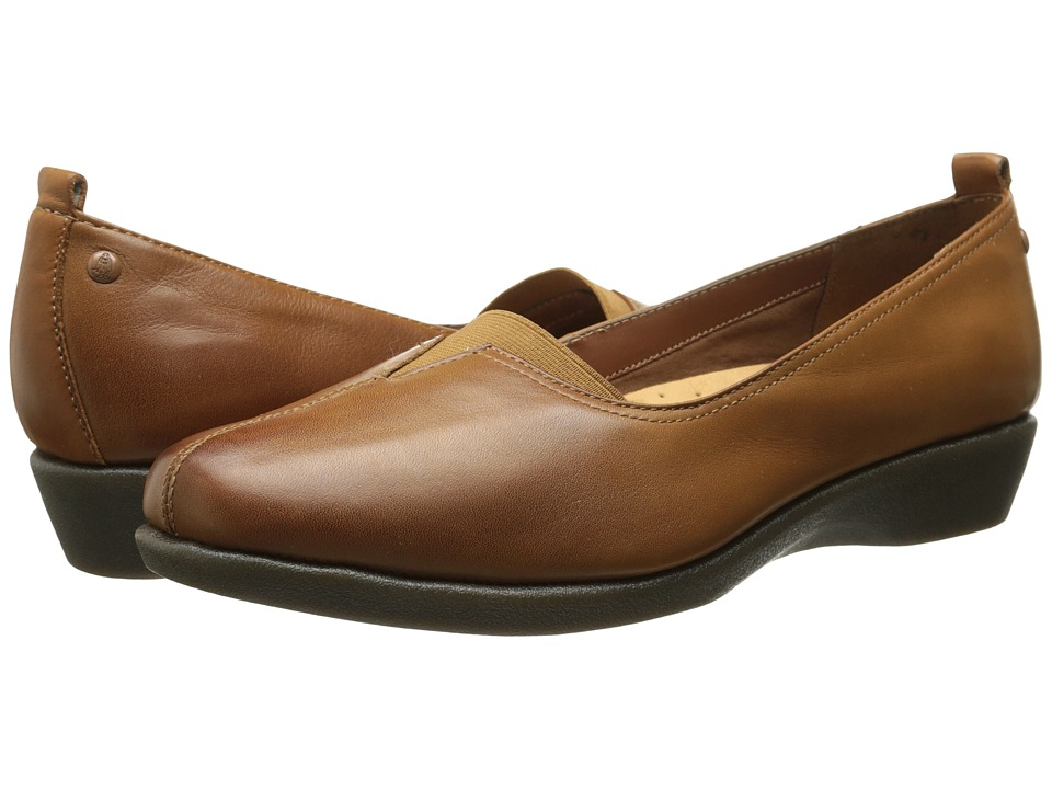 Hush Puppies - Pearl Carlisle (Tan Leather) Women