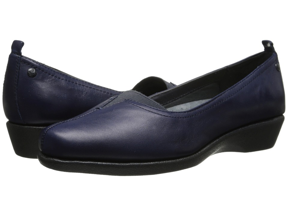 Hush Puppies - Pearl Carlisle (Navy Leather) Women