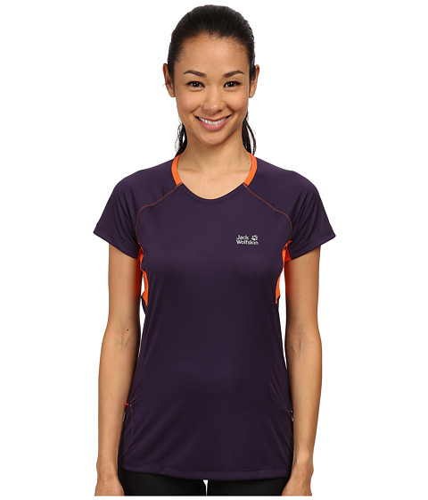 Jack Wolfskin - Passion Trail T-Shirt (Prune) Women's T Shirt